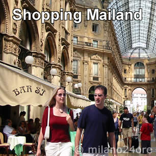 Shopping in Mailand