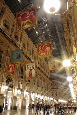 Galerie Vittorio Emanuele Ii Der Salon Mailands